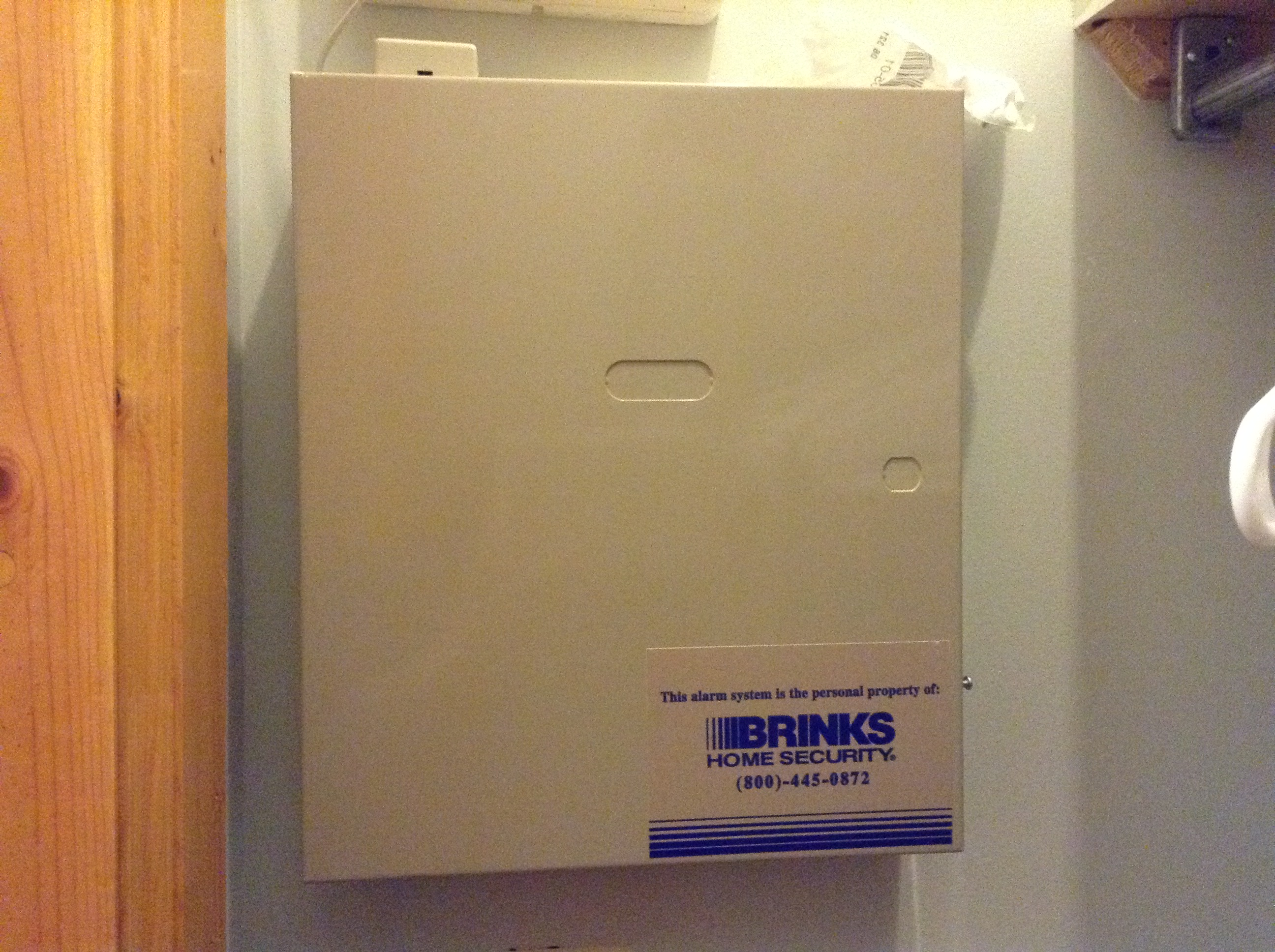 Adt Home Security Systems >> How to stop a Brinks/ADT alarm from beeping…even when it's not active – No Words Barred